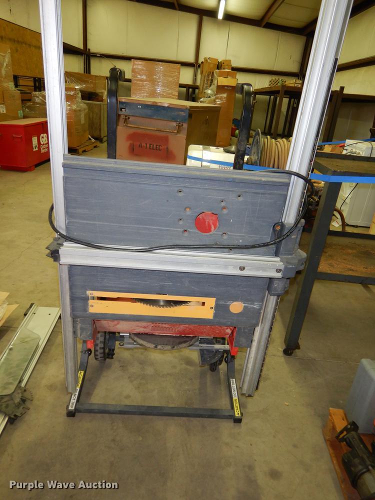 Craftsman table saw | Item DS9870 | SOLD! October 26 A1 Elec