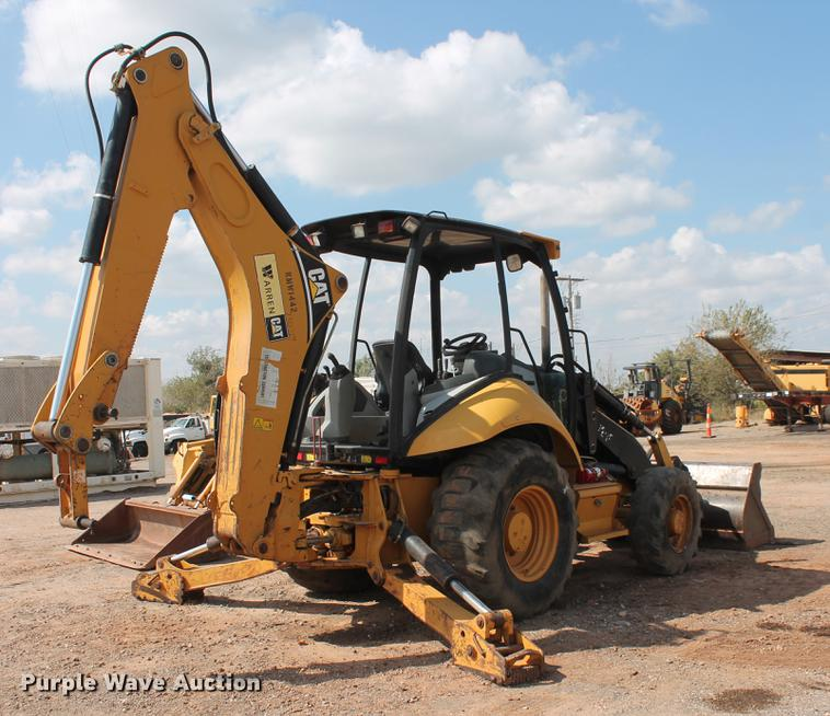 2007 Caterpillar 420E backhoe | Item DB4177 | SOLD! October