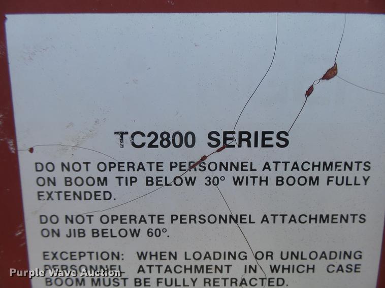 1997 International 4700 crane truck | Item DC3854 | SOLD! Oc...
