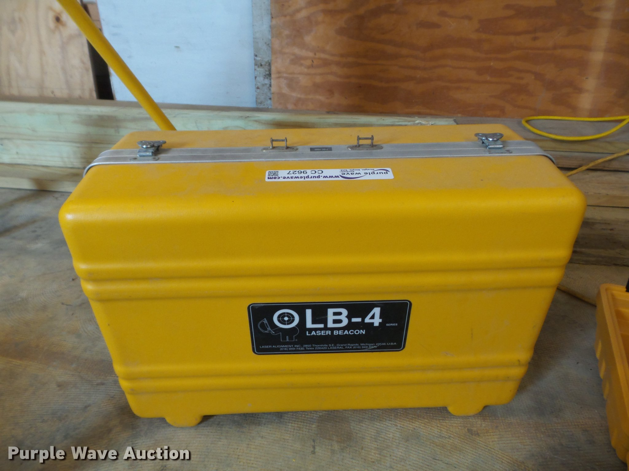 Surveying Equipment Item Cc9627 Sold October 26