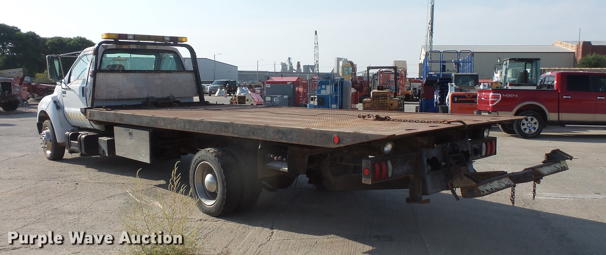 2001 Ford F650 Super Duty tow truck truck   Item DA3119   SO... Ford F Trailer Tow Wiring Harness on ford trailer hitch plug, ford focus trailer harness, ford model a wiring harness, ford oem trailer wiring harness,