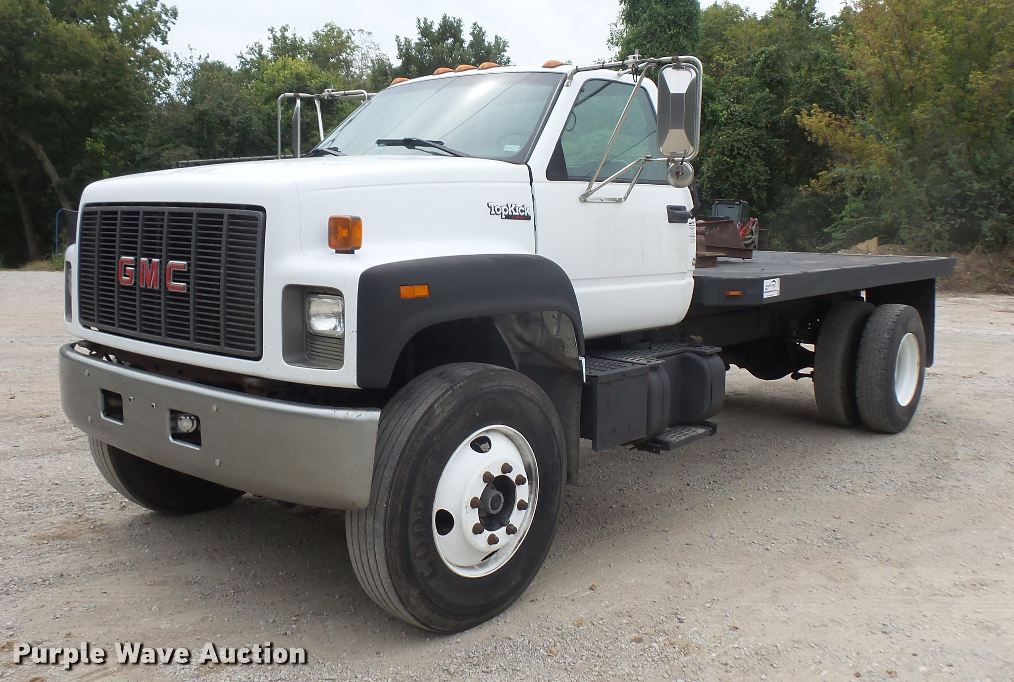 truck full flatbed topkick for sale new sold auction window dec gmc size item in