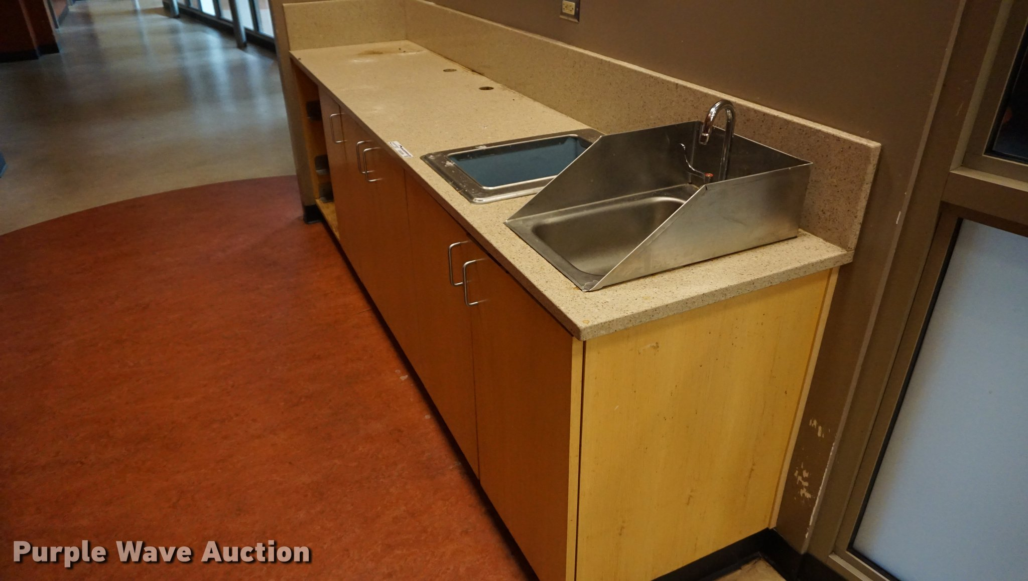 Counter with sink and ice bay   Item DS9399   SOLD! November... on undermount counter, vacation counter, modular kitchen counter, sinks that sit on top of counter, kitchen countertops, kitchen sinks 25 wide, up on the kitchen counter, kitchen light counter, kitchen floor counter, kitchen undercounter sinks, kitchen marble counter, kitchen pantry counter, mobile kitchen counter, kitchen stone counter, kitchen burn counter, kitchen bench counter, kitchen chairs counter, house kitchen counter, kitchen area, mini kitchen counter,