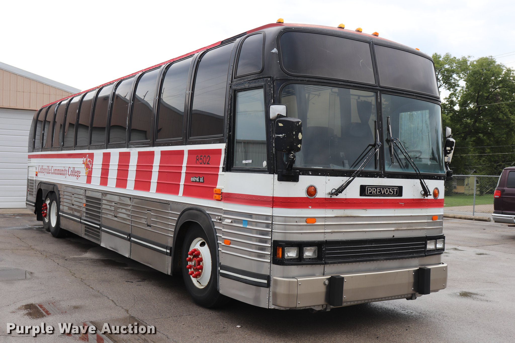 1985 Prevost coach bus   Item ED9597   SOLD! November 7 Gove