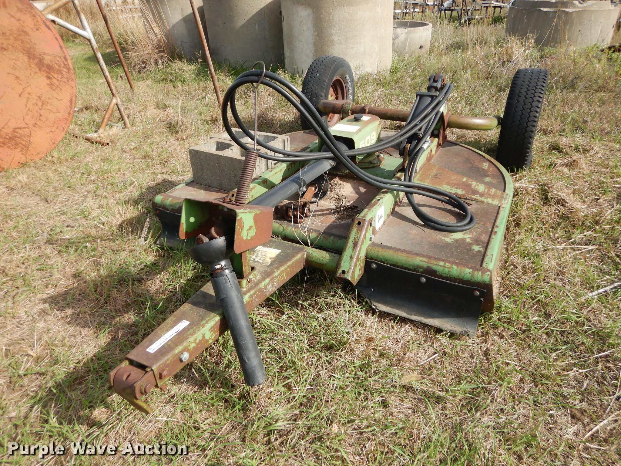 John Deere 509 finish mower | Item EE9116 | SOLD! November 7