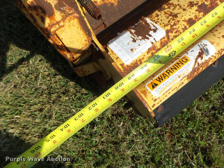 Alamo flail mower   Item DT9978   SOLD! November 8 Vehicles