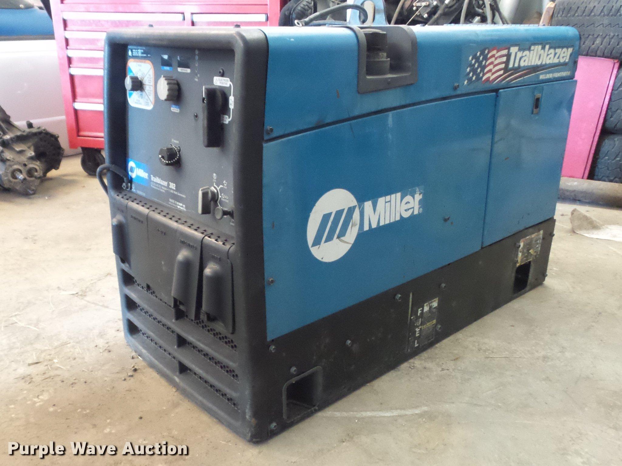 miller trailblazer 302 welder generator item db6405 sold rh purplewave com miller trailblazer 302 service manual miller trailblazer 302 manuals for sale