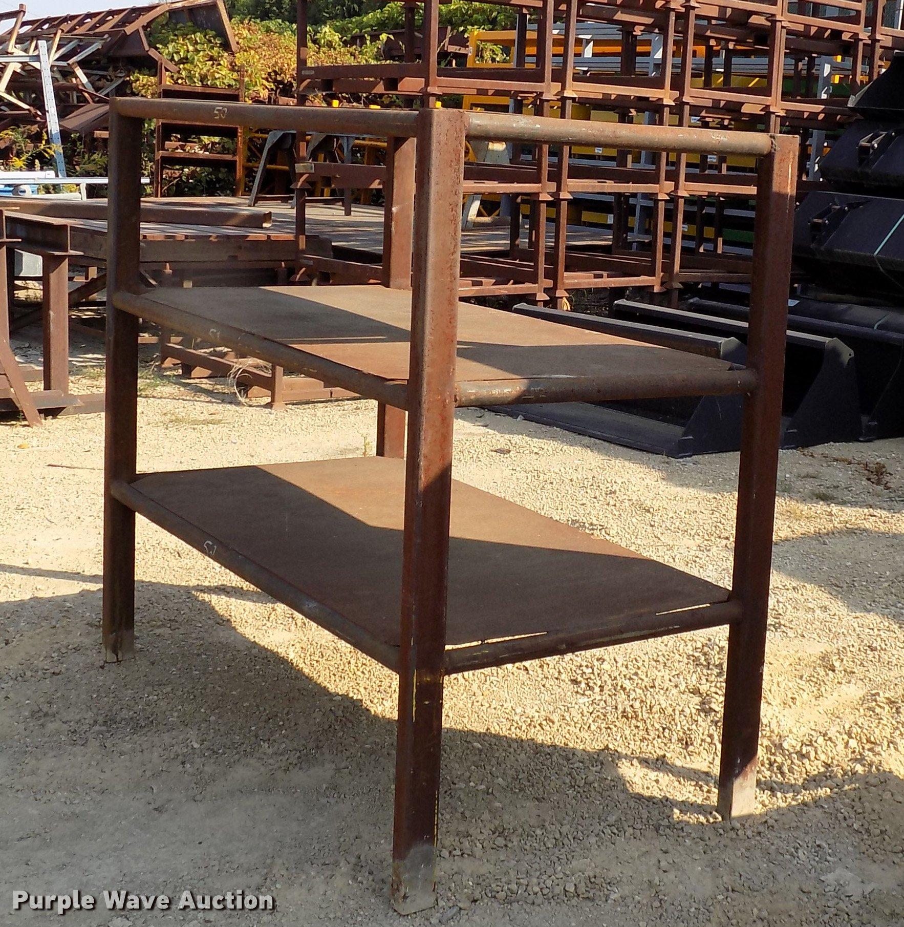 Welding tables and shelf unit Item DC4861