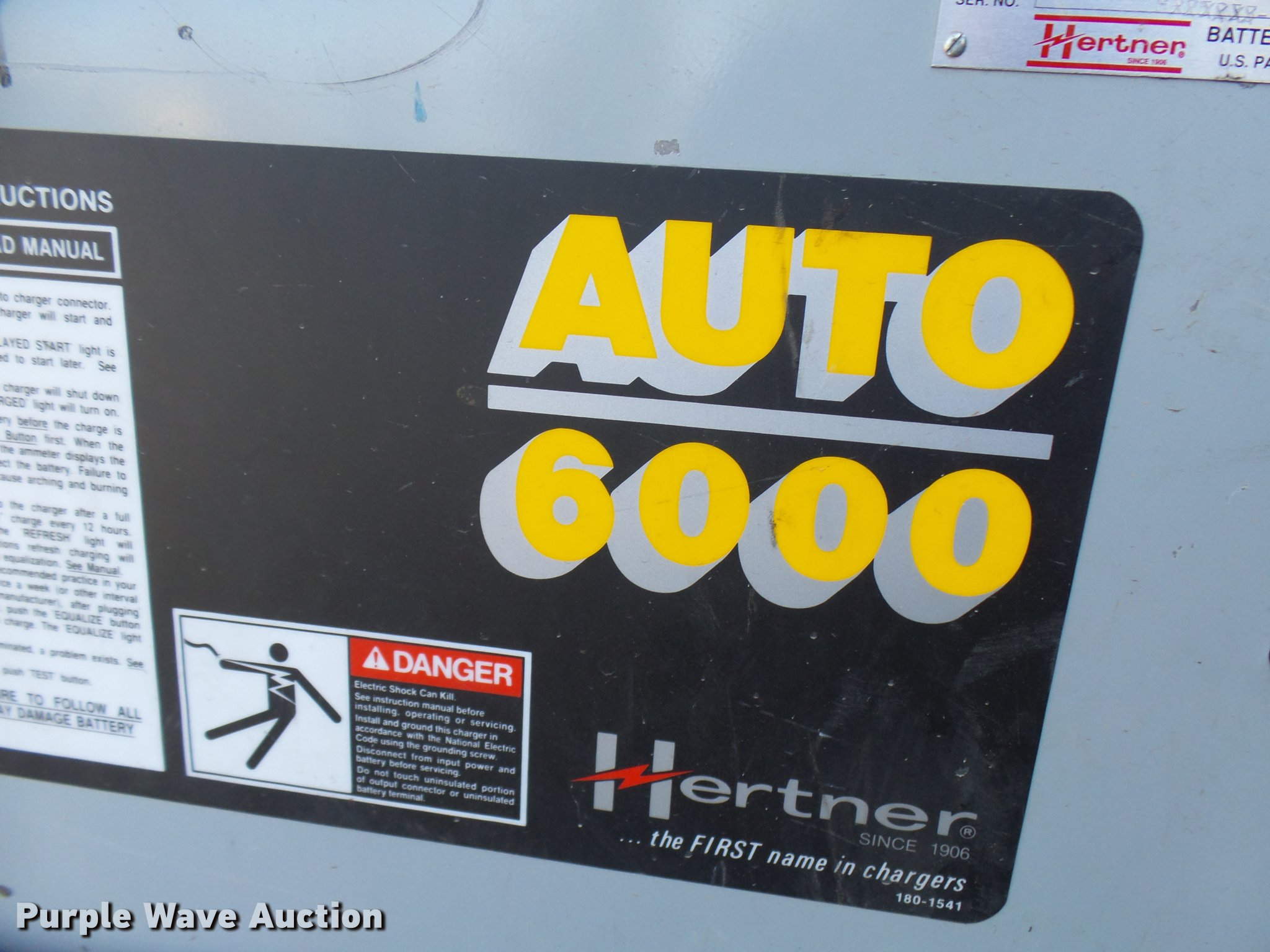 Hertner charger auto 6000 manual.