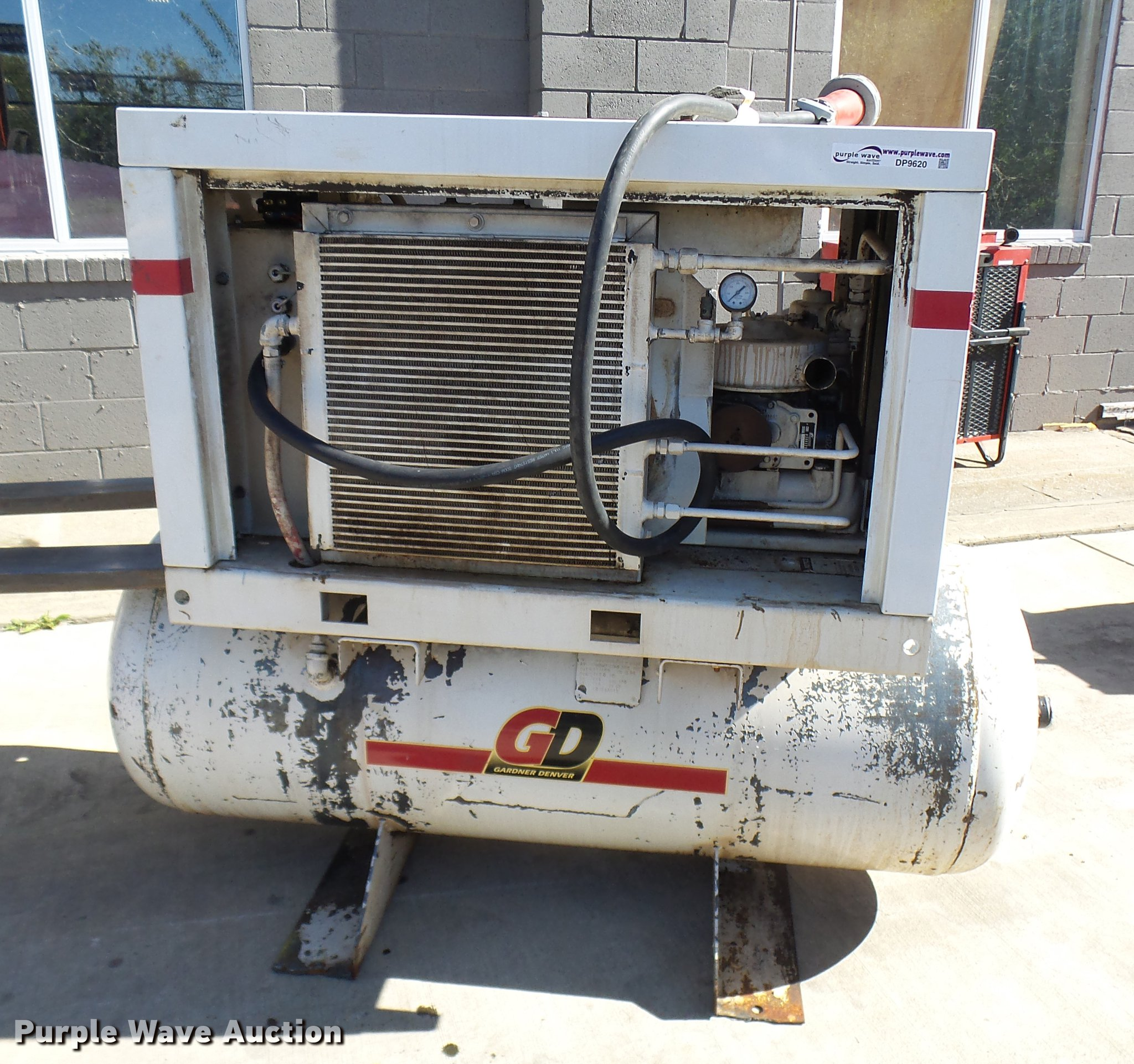 1999 Gardner Denver Eba99a Air Compressor Item Dp9620 So Motor Wiring Diagram Full Size In New Window