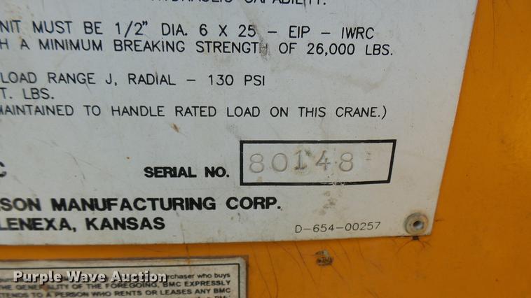 Broderson IC-200-2C crane | Item DB3459 | SOLD! November 9 C