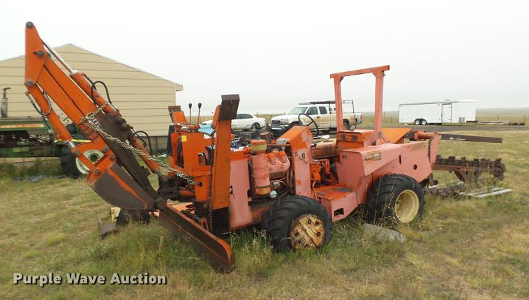 Ditch Witch R65 2 Trencher Item DR9212 SOLD November 9