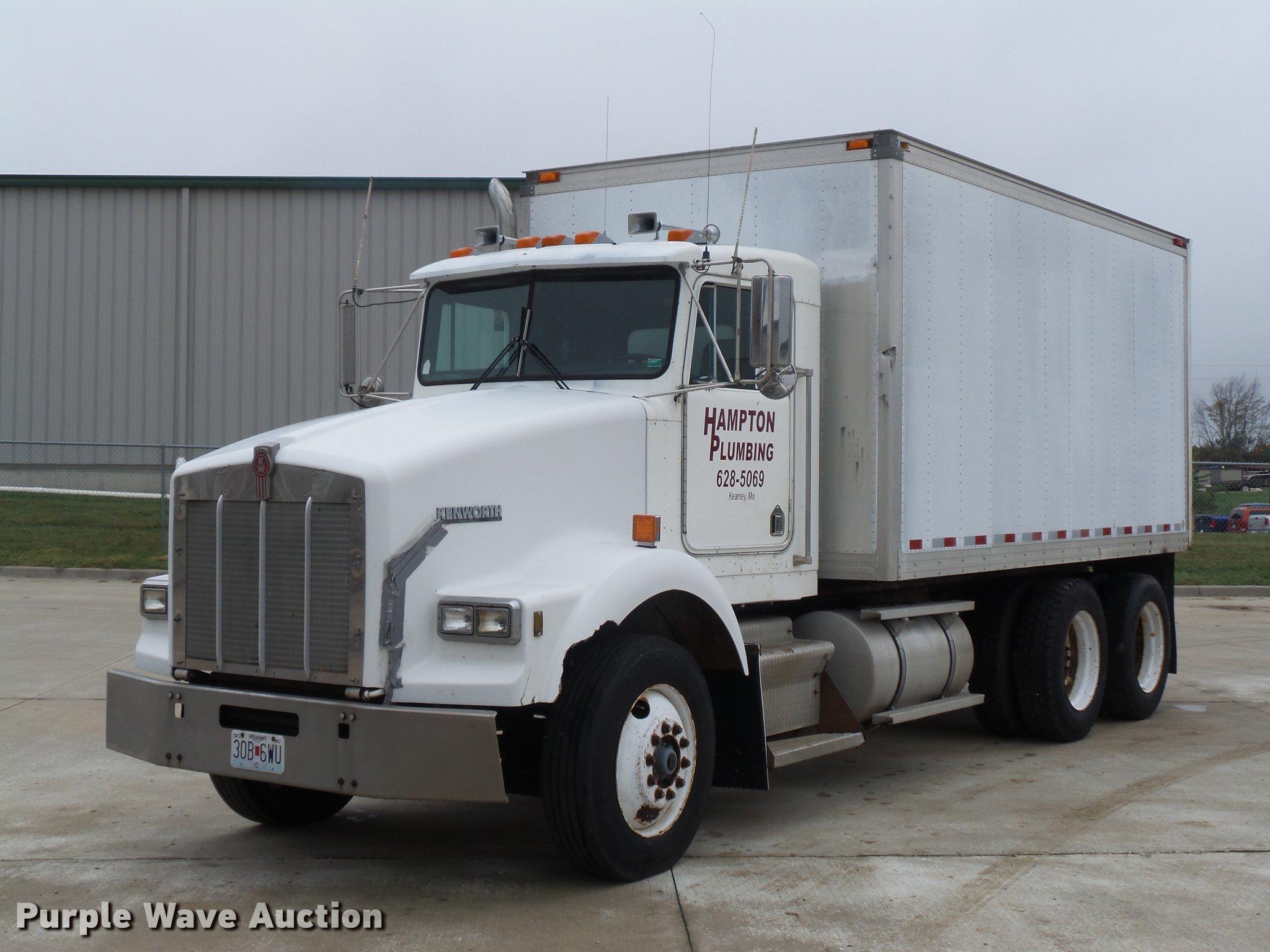Kenworth T800 Box Truck Fuse 1988 Item Da0800 Sold November Rh Purplewave Com Dump Diagram For Sale