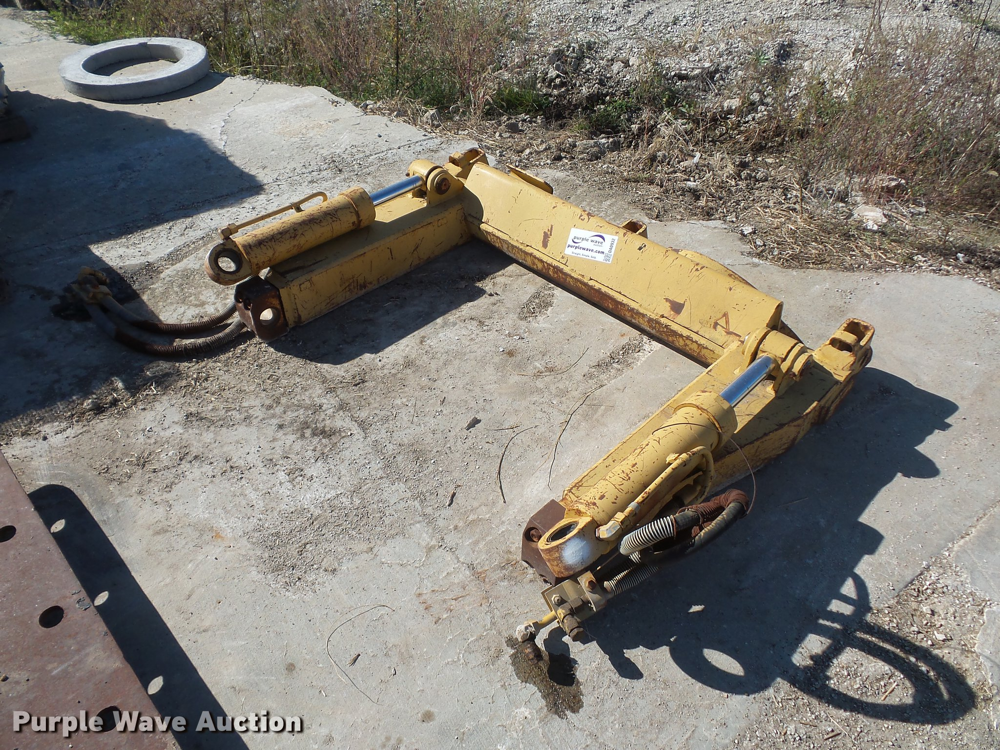 Caterpillar 963 Ripper Frame Item Da0932 Sold November