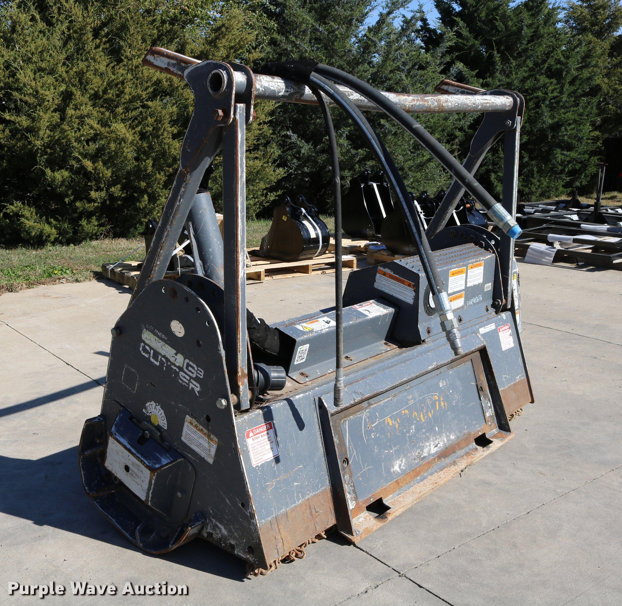Loftness G3 skid steer mulcher   Item DW9998   SOLD! Novembe