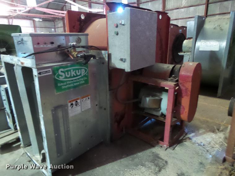 4) Sukup grain dryers | Item BJ9982 | SOLD! November 15 Ag
