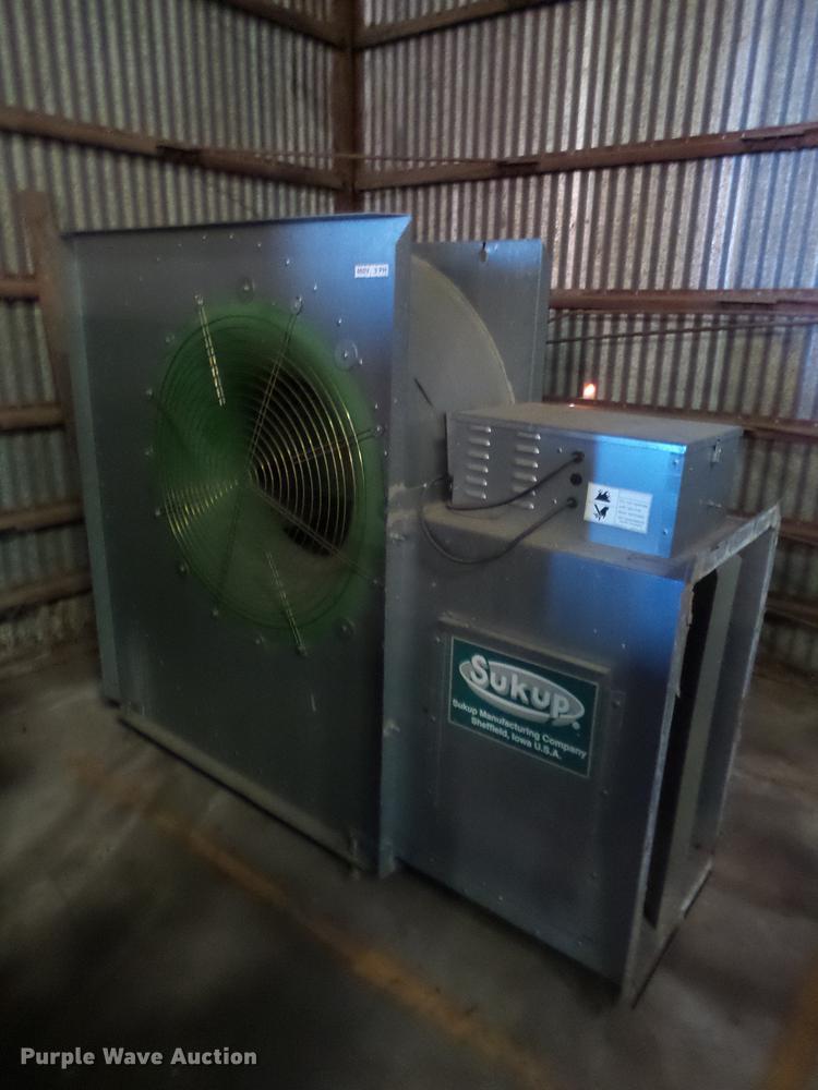 4) Sukup grain dryers | Item BJ9985 | SOLD! November 15 Ag
