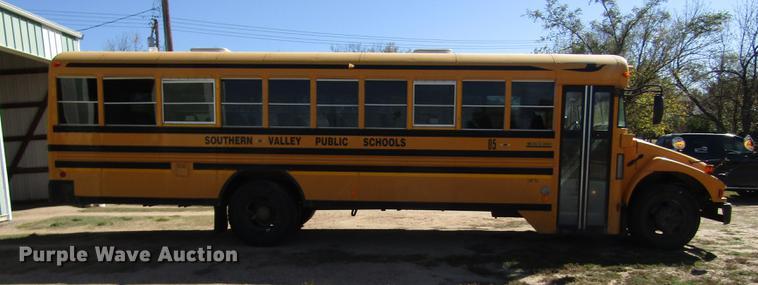 2005 Blue Bird Vision Cv 6000s School Bus