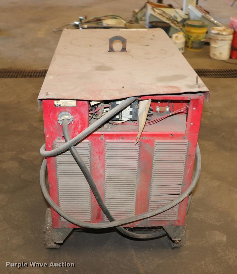lincoln idealarc dc 600 stick welder item ed9659 sold. Black Bedroom Furniture Sets. Home Design Ideas