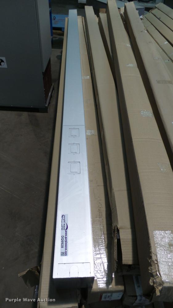 5) Wiremold aluminum drop poles | Item G1574 | SOLD! Novemb