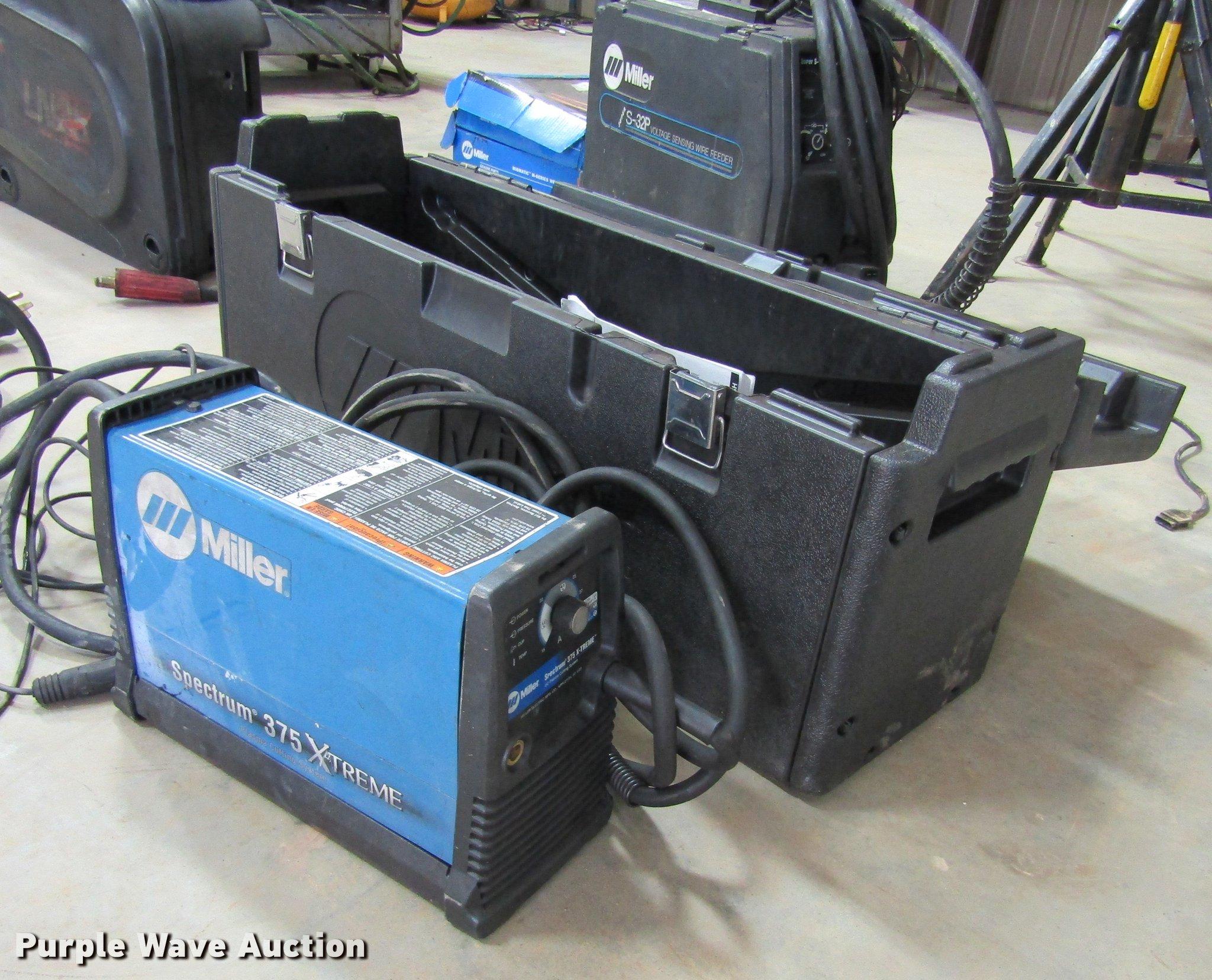 Miller Spectrum 375 >> Miller Spectrum 375 Extreme Plasma Cutter Item Az9384 So