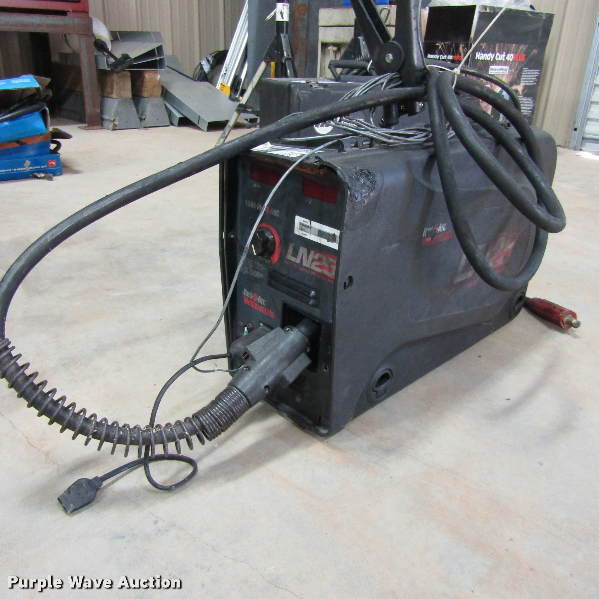 Red D Arc Ln25 Wire Welder Item Az9385 Sold November 29 Wiring A Full Size In New Window