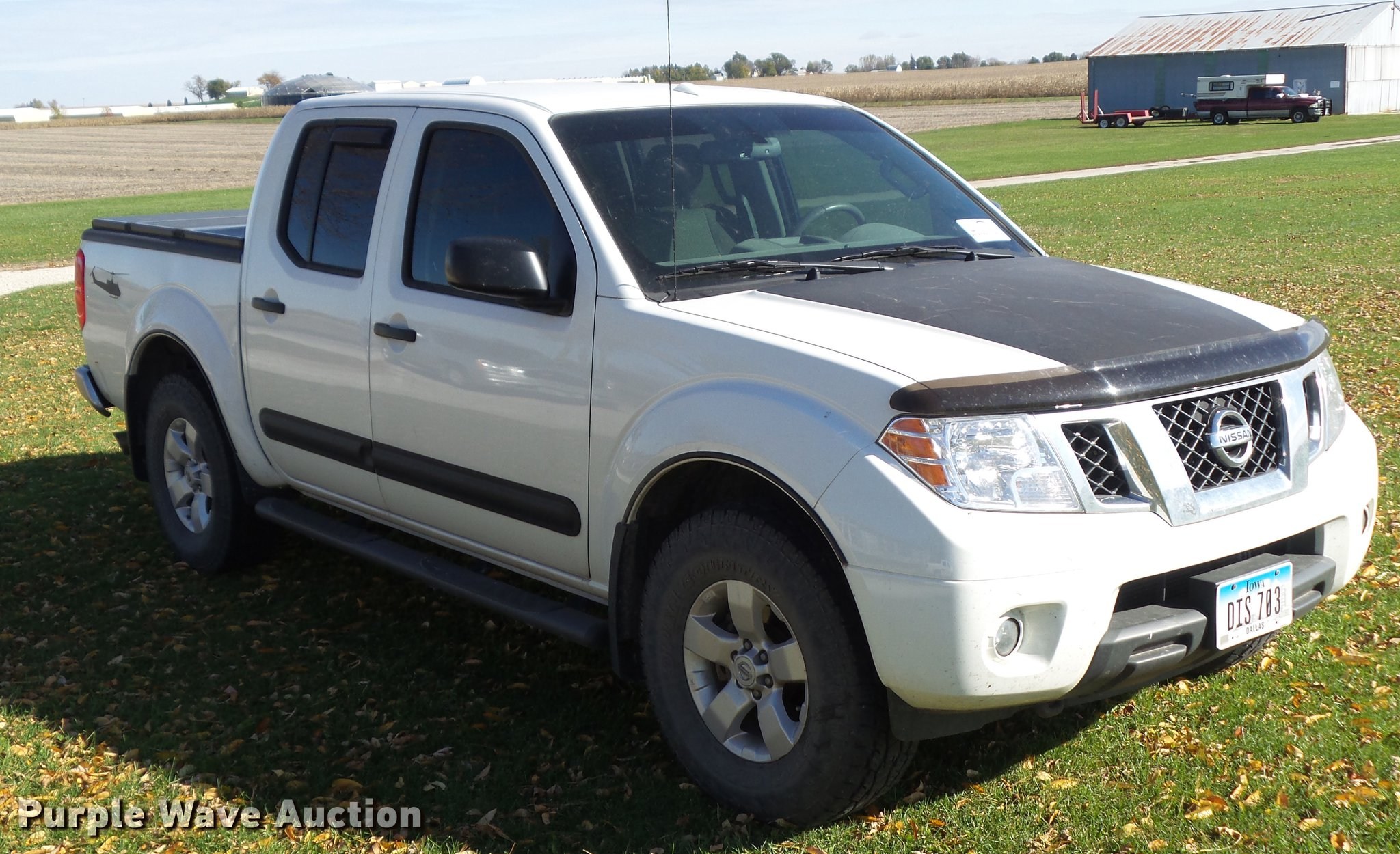 2013 Nissan Frontier Sv Crew Cab Pickup Truck Item Da7008 Hitch Wiring Full Size In New Window