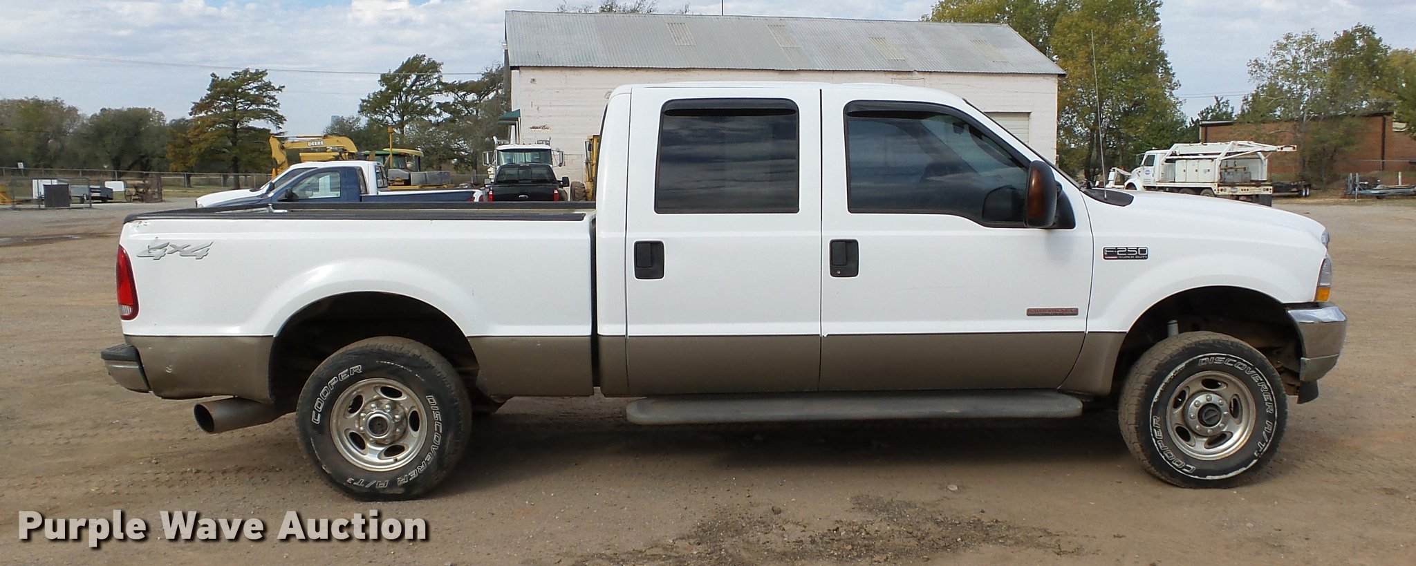 2004 Ford F250 Super Duty Lariat Crew Cab Pickup Truck Ite F 250 Mirror Cover Full Size In New Window