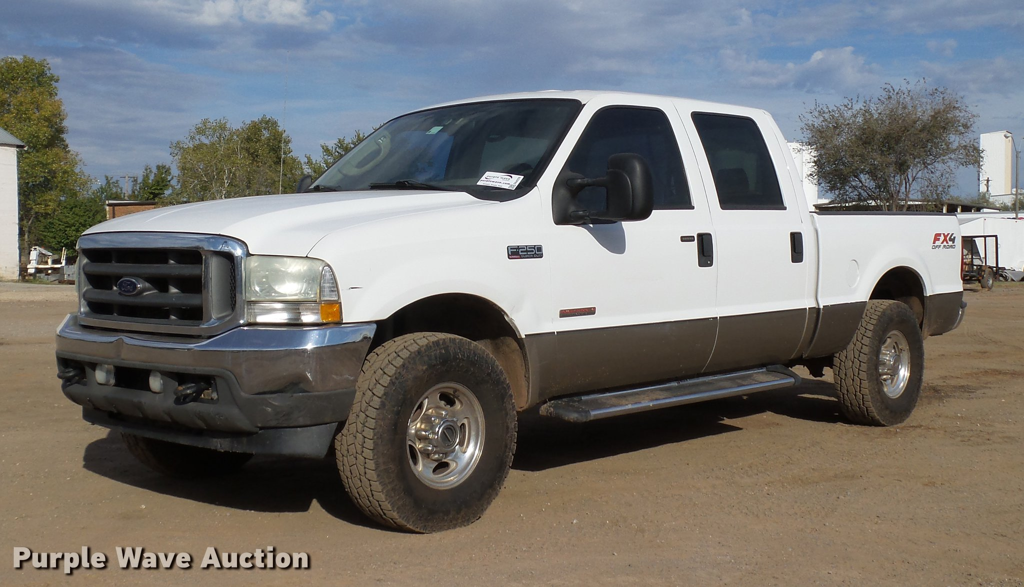 2004 Ford F250 Super Duty Lariat Crew Cab Pickup Truck Ite F 250 Db4228 Image For Item