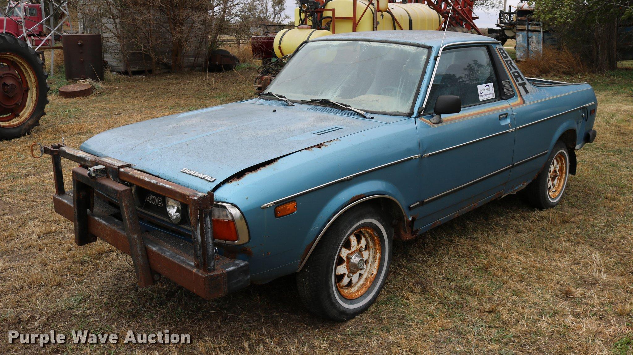 1981 Subaru Brat pickup truck Item DC3744
