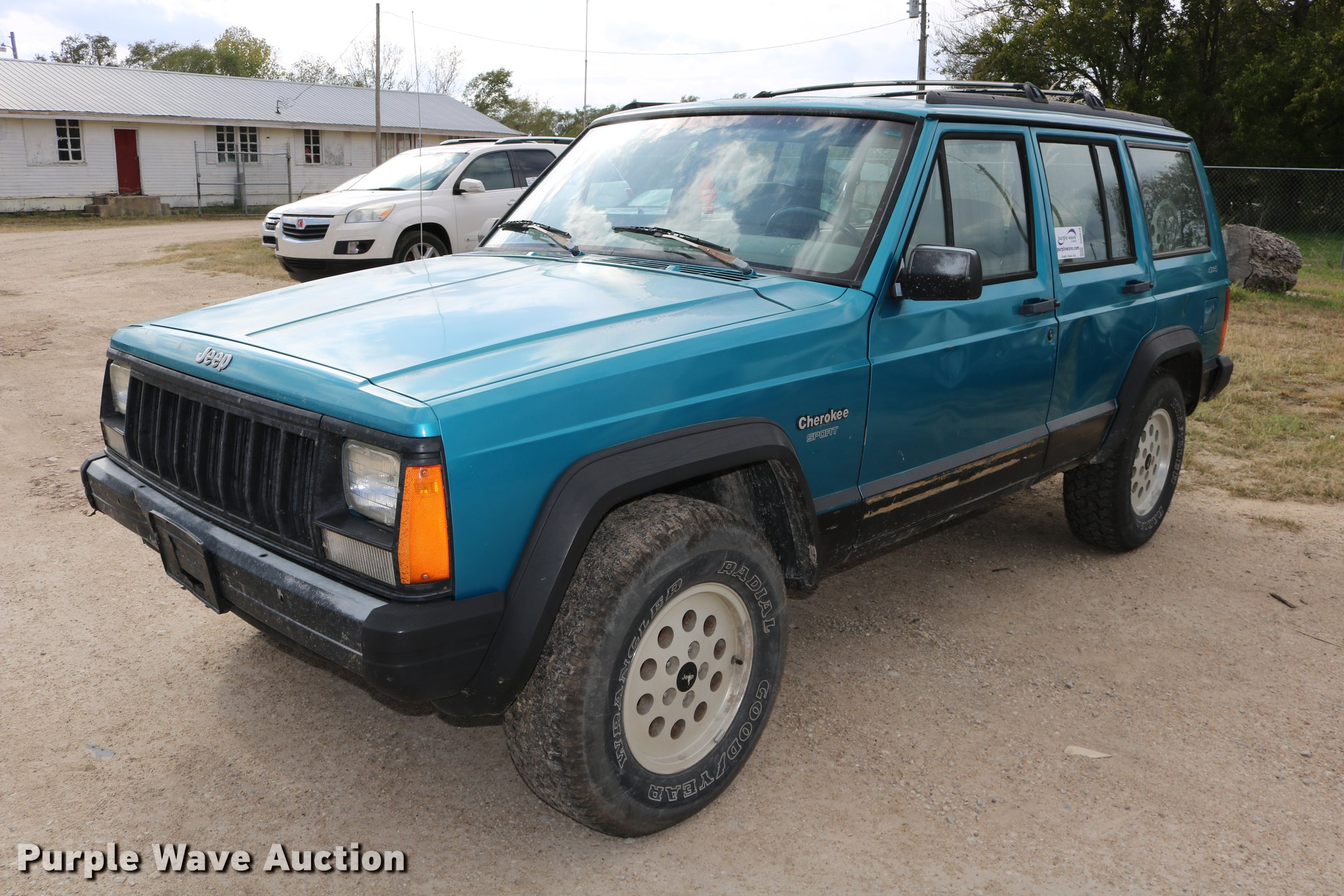 1993 Jeep Cherokee Sport SUV | Item DD0019 | SOLD! November ...