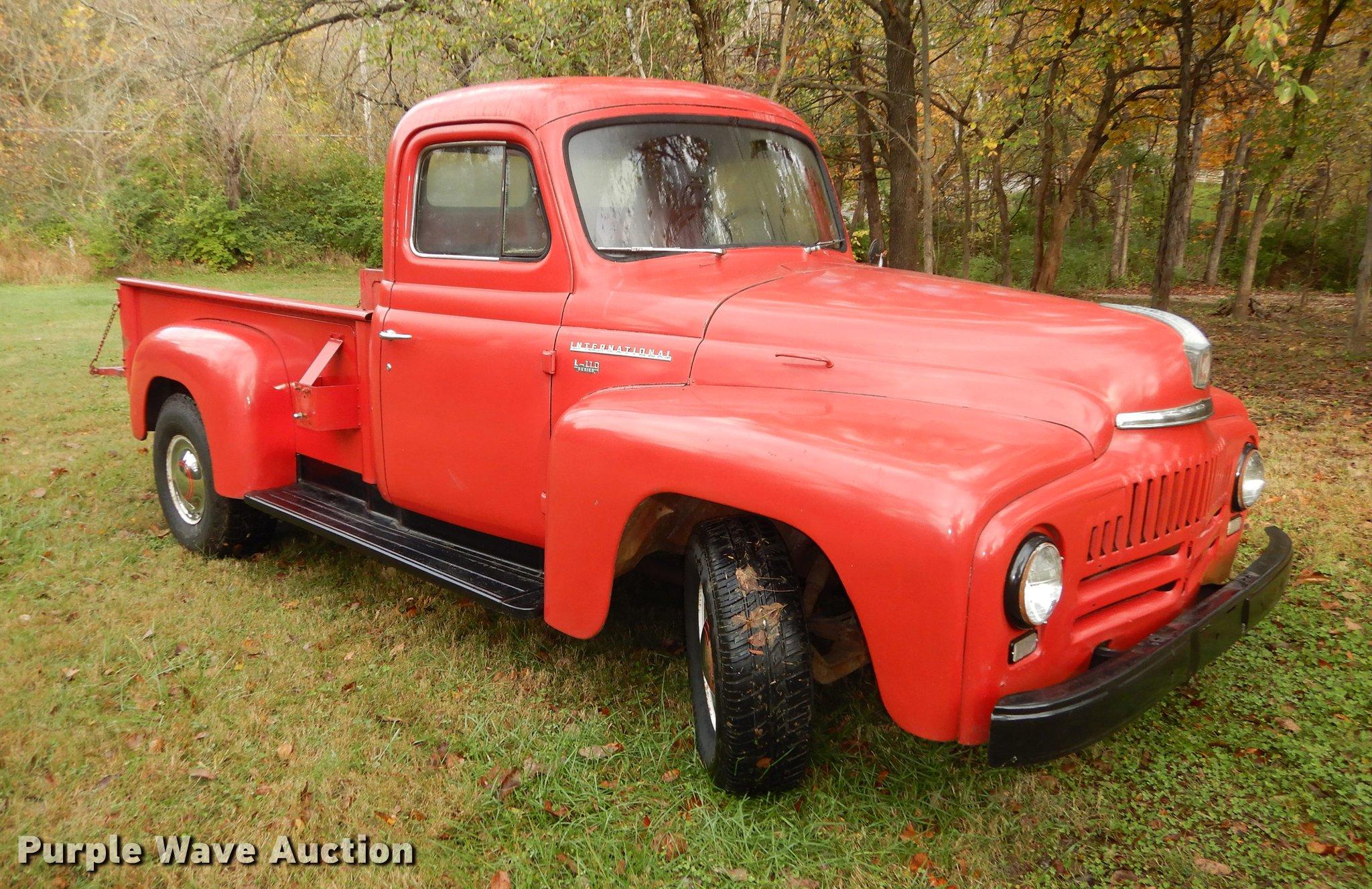 1952 International L110 pickup truck   Item K5849   SOLD! No