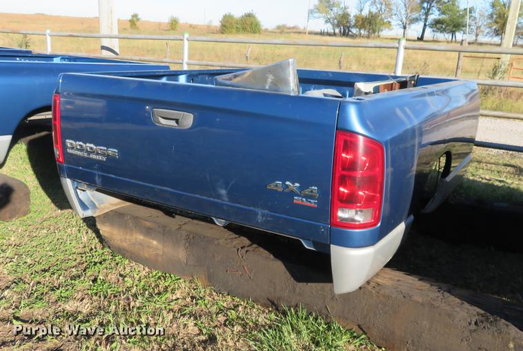 Dodge Ram Truck Bed For Sale >> 2004 Dodge Ram Pickup Truck Bed Item Df9796 Sold Novemb