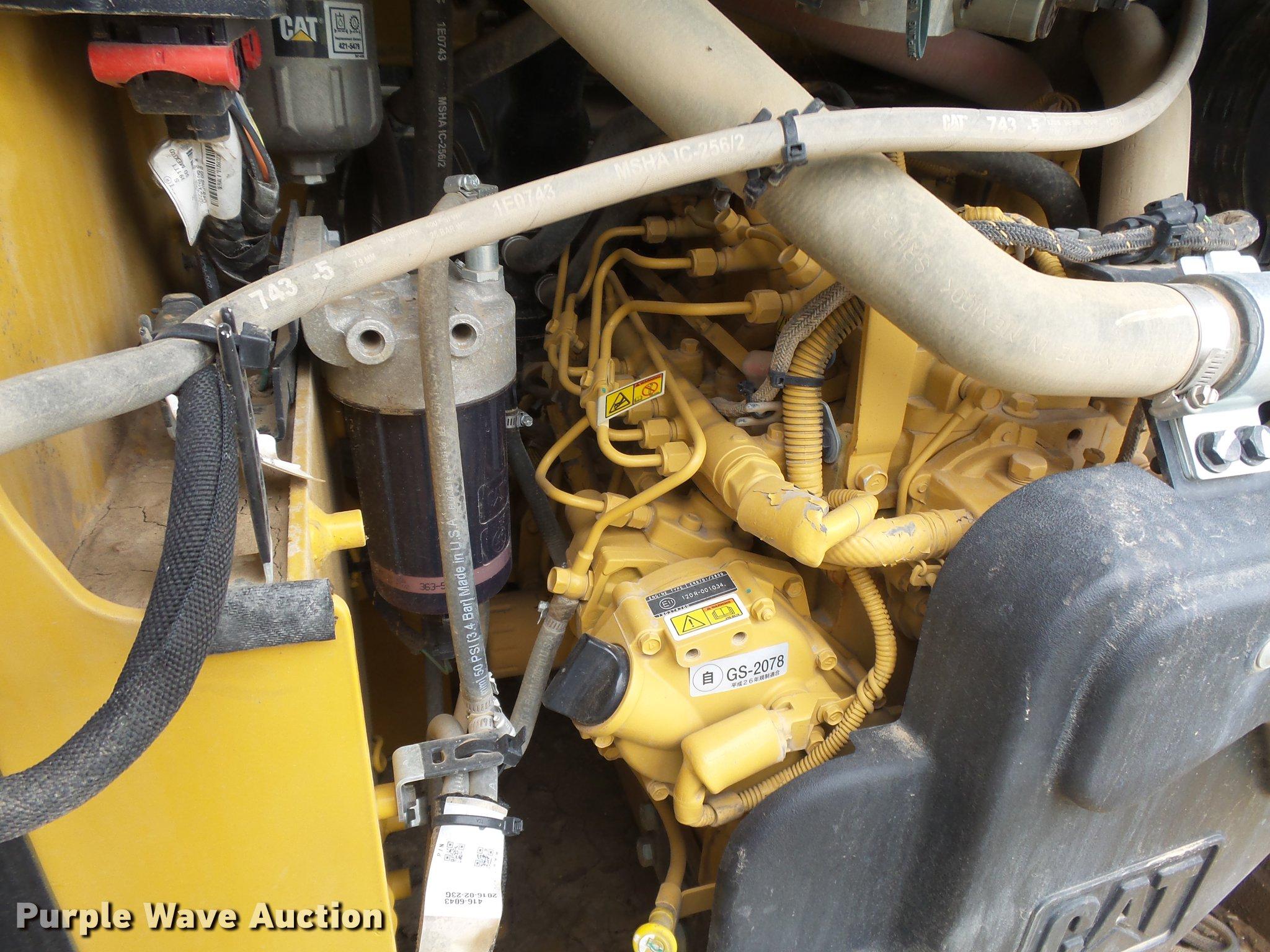 2016 Caterpillar 239D skid steer | Item DC3784 | SOLD! Novem