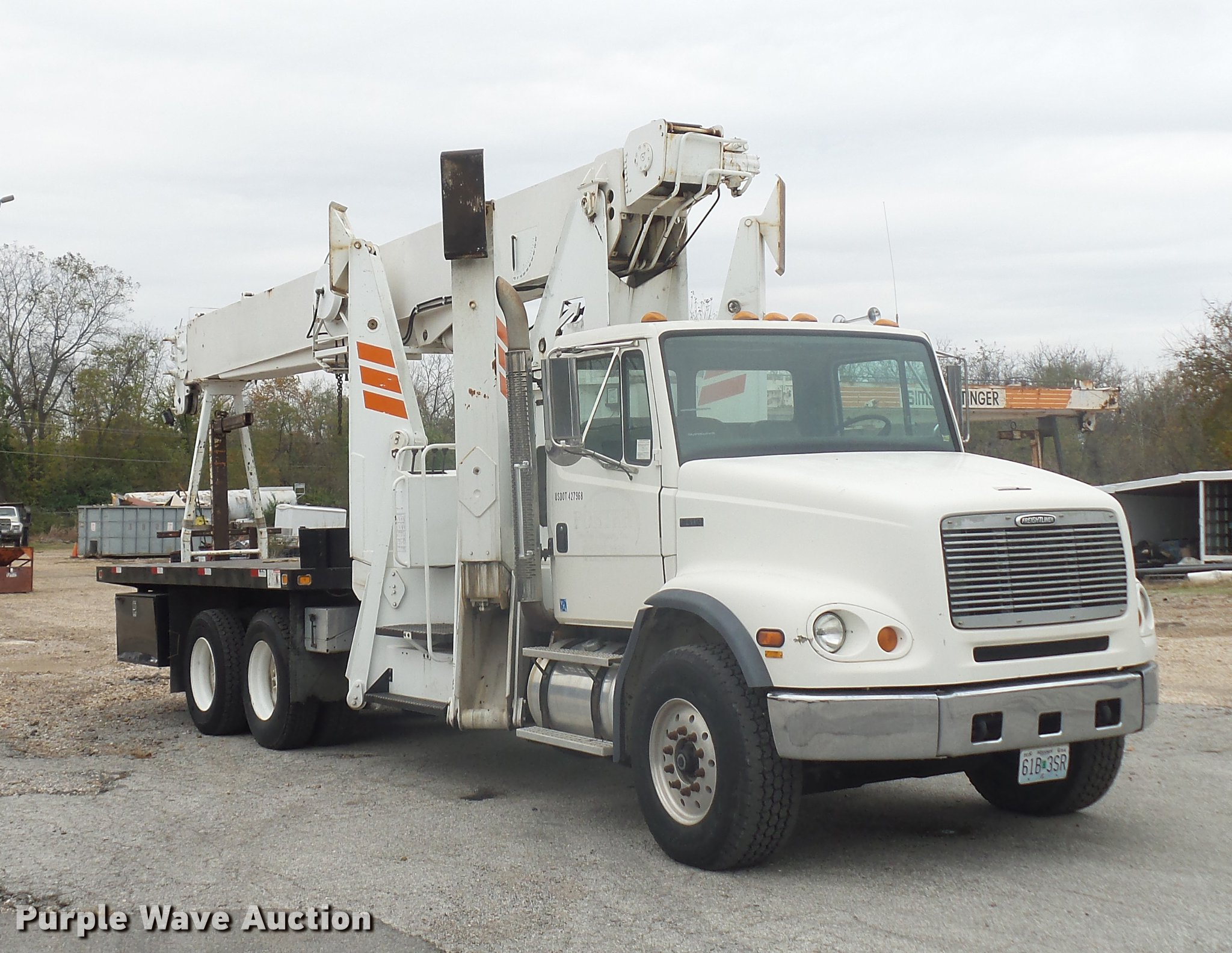 1999 Freightliner Fl112 Crane Truck Item Dd9062 Sold No Wiring Diagram Full Size In New Window