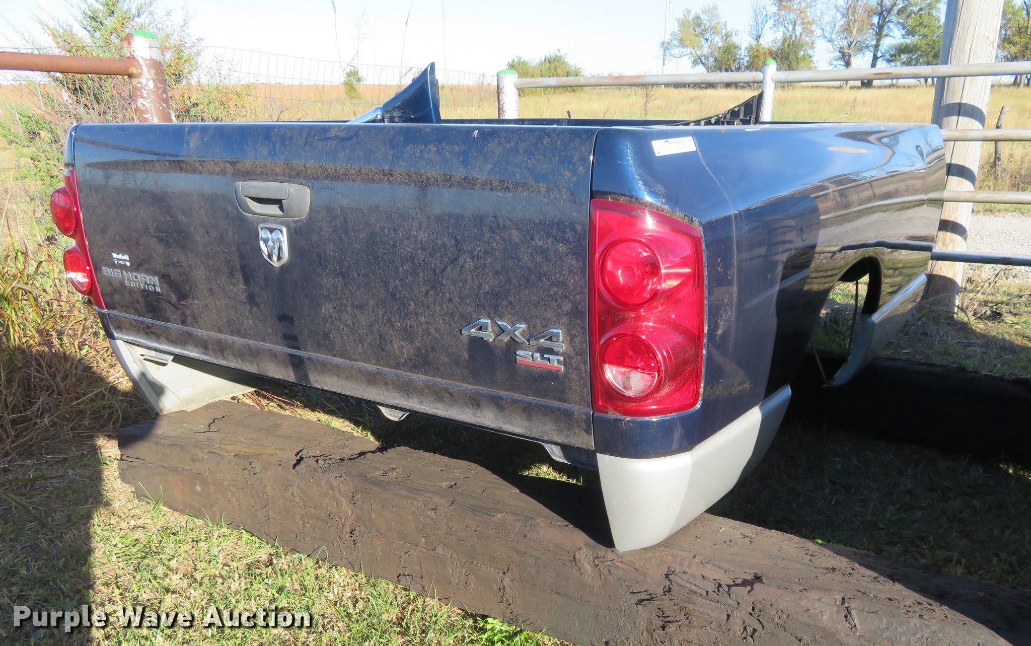 Dodge Ram Truck Bed For Sale >> 2007 Dodge Ram Pickup Truck Bed Item Df9798 Sold Novemb
