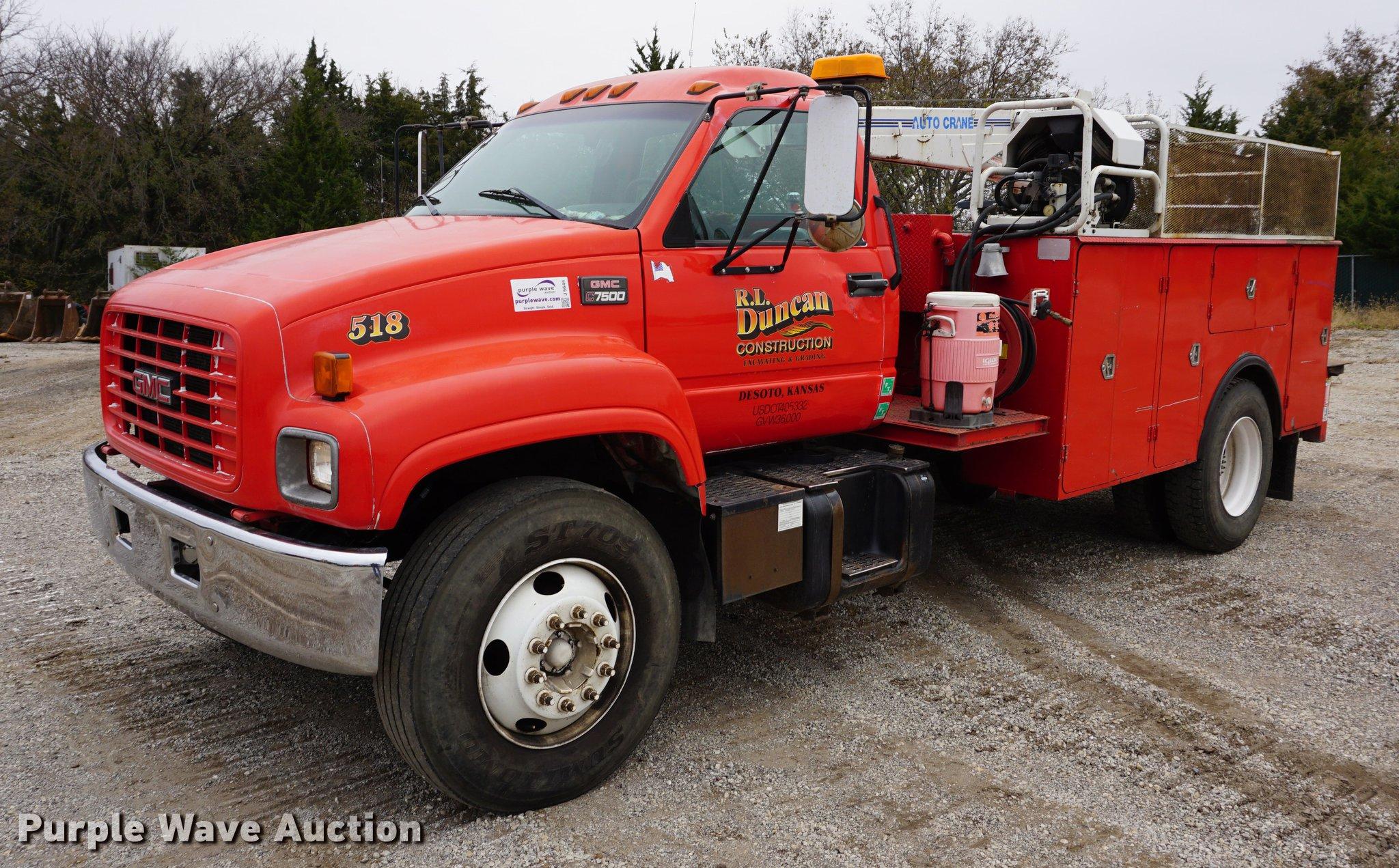 1998 gmc c7500 service truck item j5644 sold november 3 rh purplewave com 2005 GMC C7500 Owner's Manual GMC C7500 Steering Gearbox