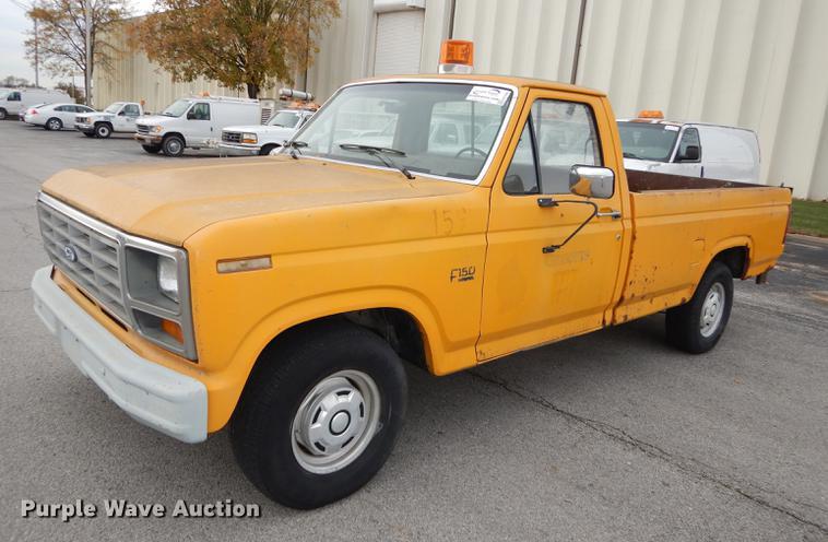 1986 Ford F150 Pickup Truck In Kansas City Ks Item Da1364 Sold Purple Wave