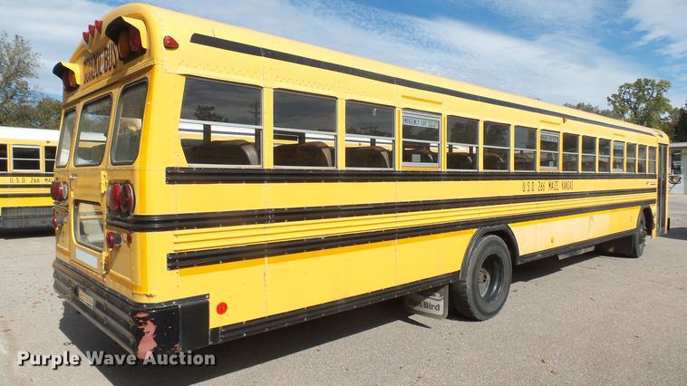 1999 Blue Bird TC2000 school bus   Item DC1846   SOLD! Decem