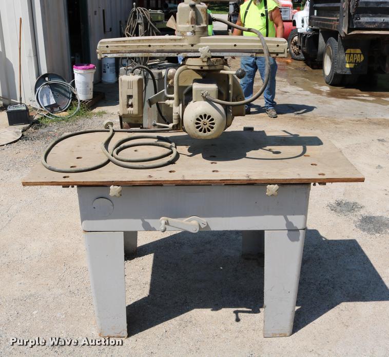 Delta Rockwell radial arm saw | Item DM9280 | SOLD! December