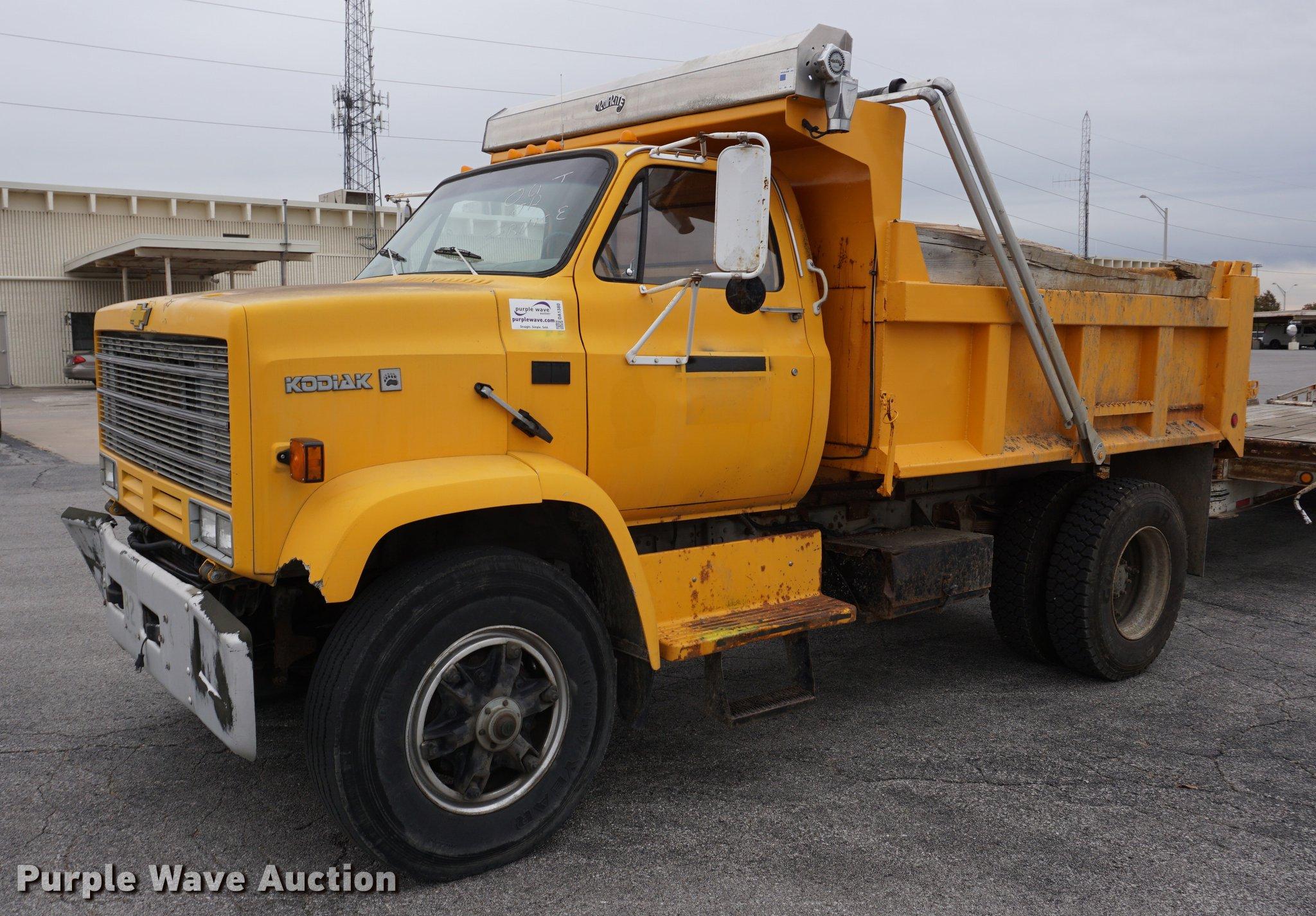 1989 Chevrolet Kodiak dump truck | Item DA1380 | SOLD! Decem