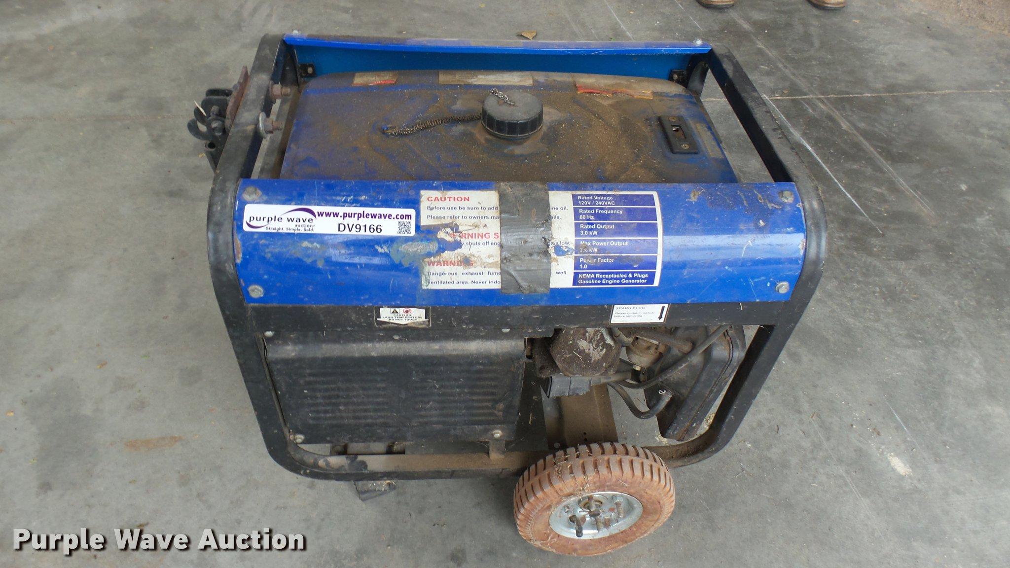 AC Delco generator Item DV9166