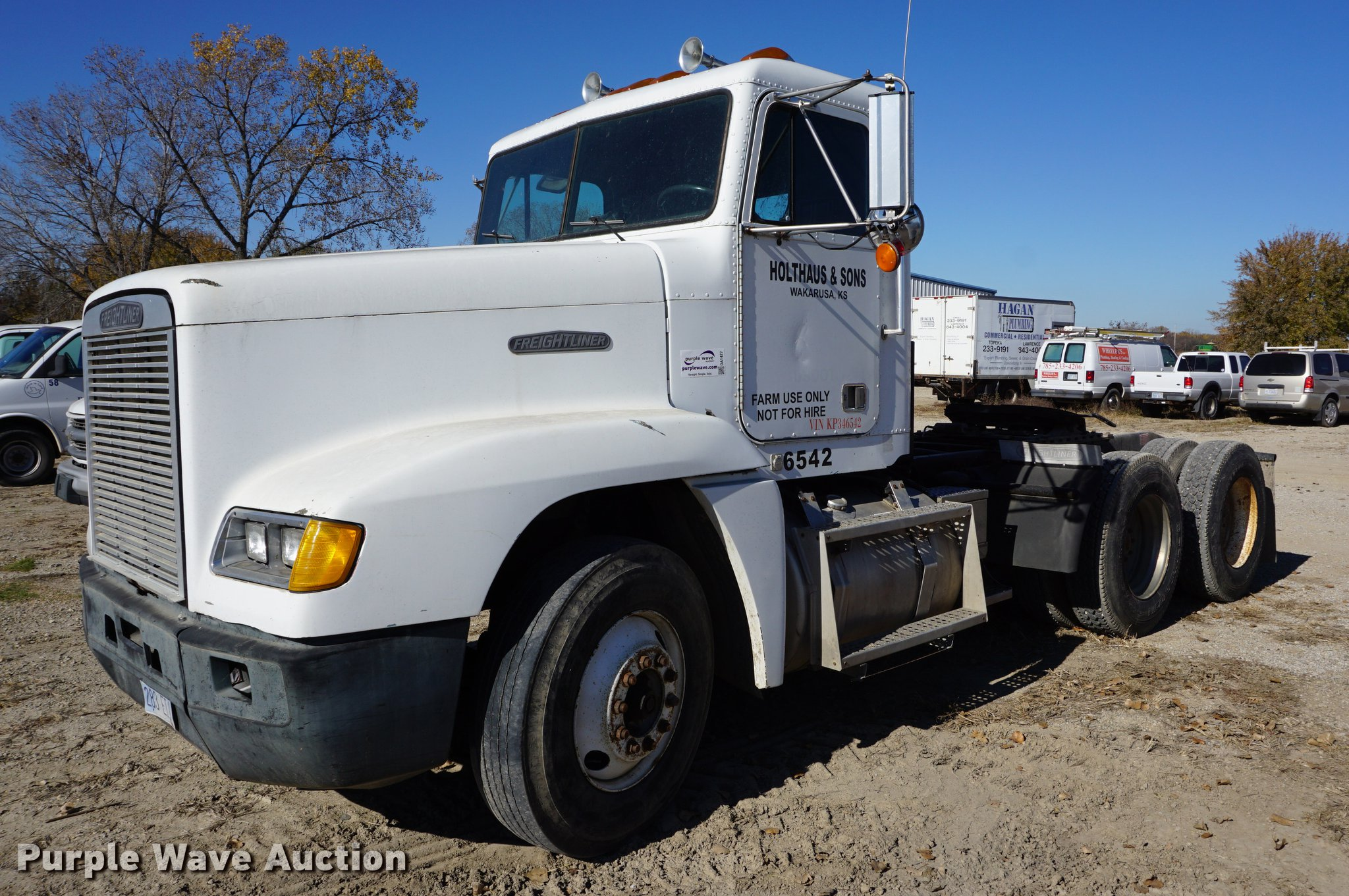1989 Freightliner FLD semi truck | Item DA1427 | SOLD! Decem