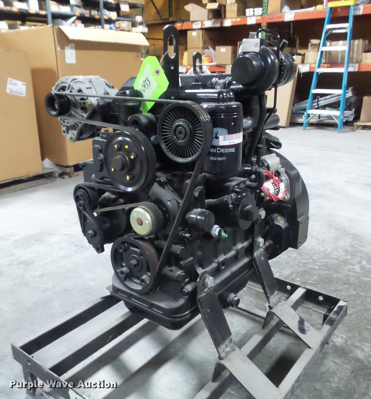 2.4 L Engine For Sale >> 2012 John Deere 4024tf281 2 4l Four Cylinder Turbo Diesel En