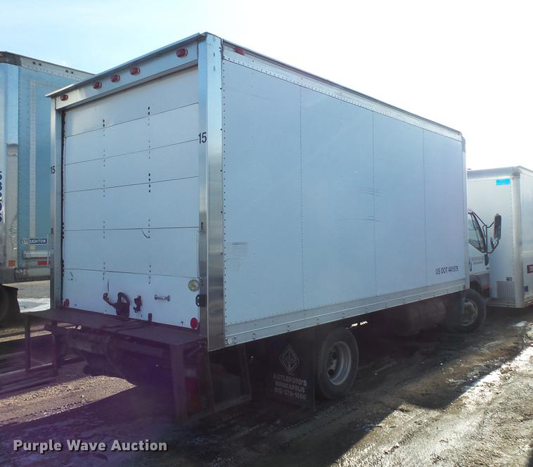2001 Mitsubishi Fuso FE box truck | Item DB8008 | SOLD! Dece