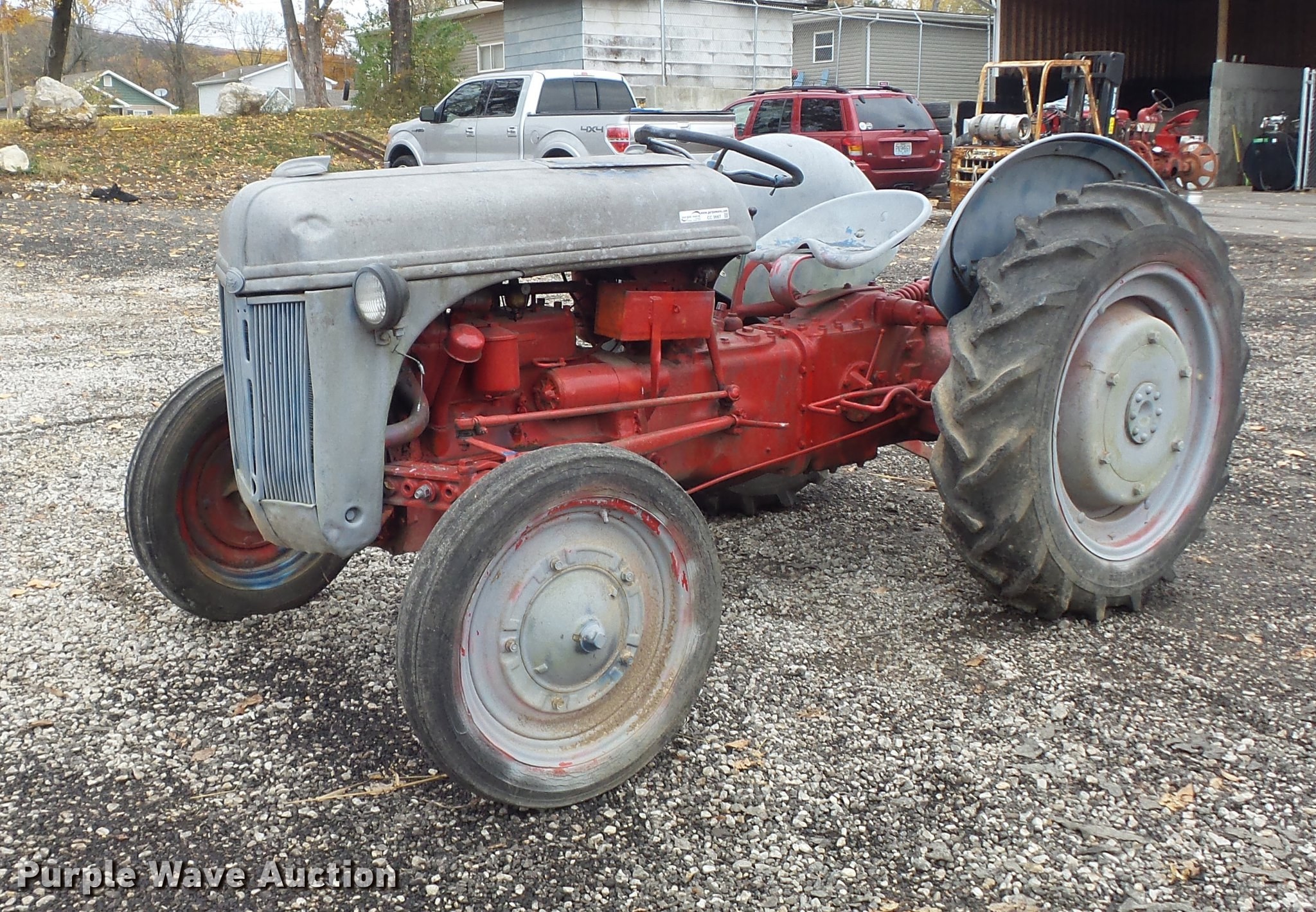 9n Ford Tractor >> 1941 Ford 9n Tractor Item Cc9667 Sold December 13 Vehic