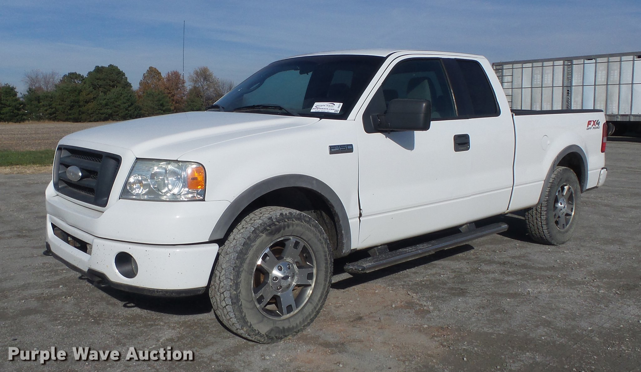 2006 Ford F150 Fx4 Supercab Pickup Truck In Carlyle Il Item Db6327 Sold Purple Wave