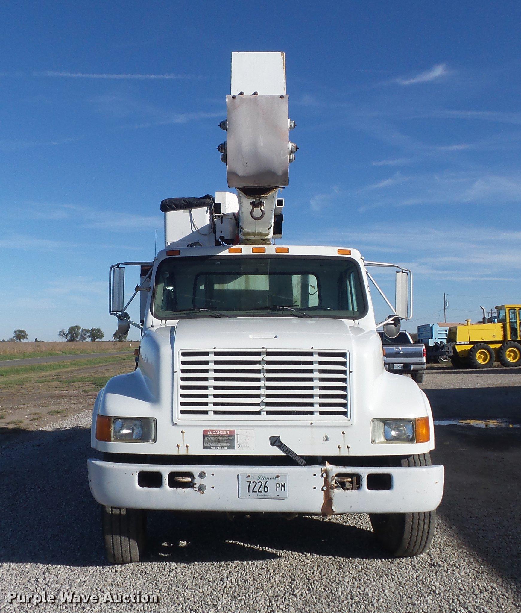 1996 International 4900 Bucket Truck Item Db6351 Sold D Wiring Diagram Full Size In New Window
