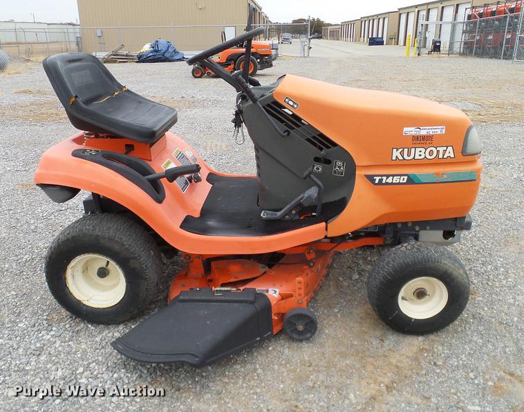 az9341 image for item az9341 1996 kubota t1460 lawn mower