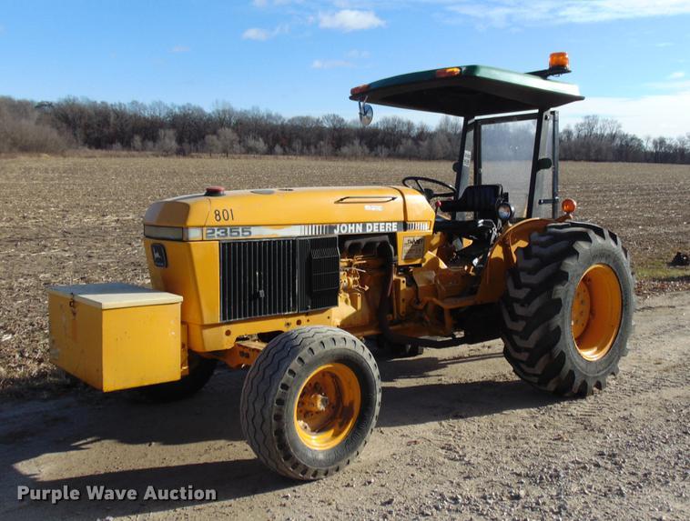 1990 John Deere 2355 Tractor Item DB8749 SOLD December